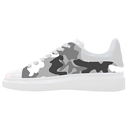 Camouflage Personnalisé Femmes Toile Chaussures Chaussures Chaussures Chaussures.
