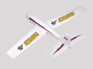 Guillow's Sky Raider Foam Glider Model Kit - Foam Glider
