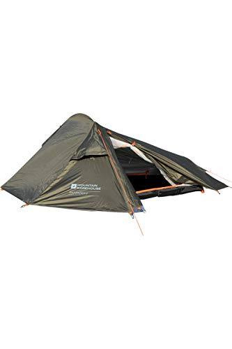 Mountain Warehouse 2 Man Backpacker Tent – 1 Room Festival Tent