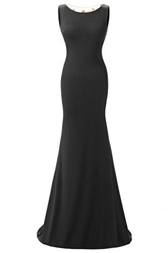 JYDress - Vestido - para mujer negro negro 46