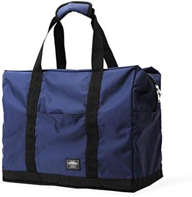 大容量の荷物預かりバッグポータブル多機能ゴルフの服バッグ折り畳み式のデザイン軽量素材ブルー HMMSP