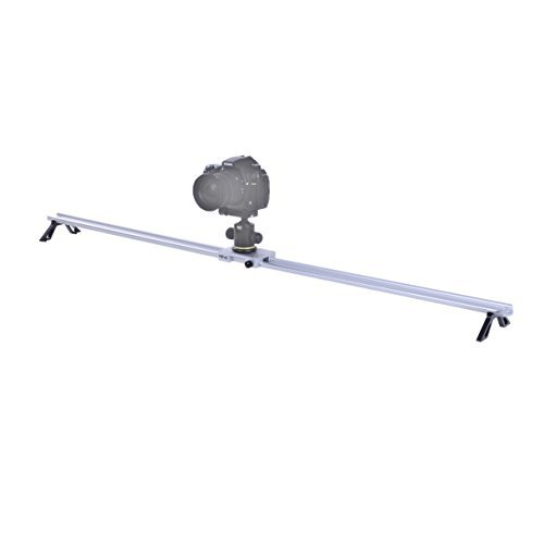 Movo Photo CST-120 47-INCH Aluminum Camera Track Slider Video Stabilization ()