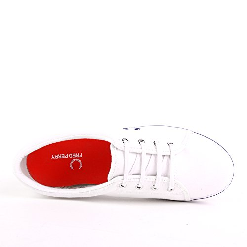 Fred Perry Aubyn Canvas White White
