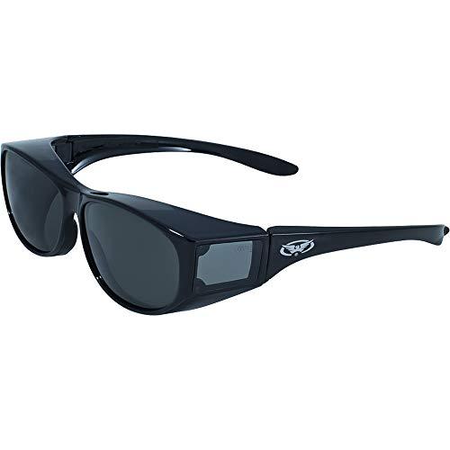 Global Vision Eyewear Escort Safety Glasses, Smoke Tint Lens (Sunshades Eyewear)