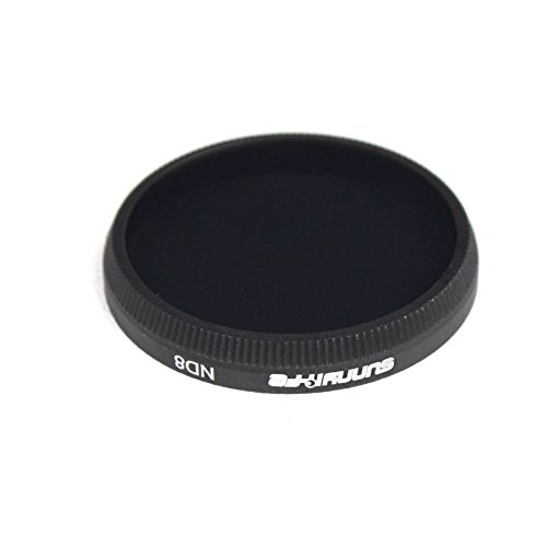Drone Fans 1pc Lens Filter ND8 Filter Dimmer Light Microscopy X3 Filter for DJI OSMO Inspire 1 and OSMO Plus
