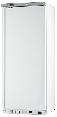 Chef's Exclusive CE308 23 Cubic Foot Commercial 1 Single Solid Door NSF Approved Sub Zero Reach in Upright Refrigerator Cooler Bottom Mount Compressor, 30.6 Inch Wide, White