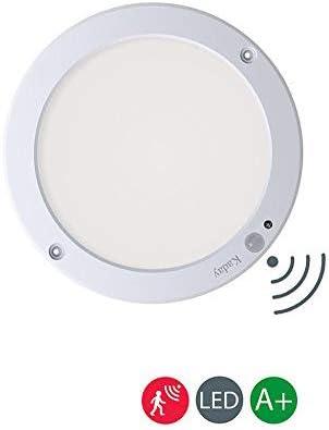 Kaday 18W Downlight LED Plafón con sensor de movimiento Lámpara de ...