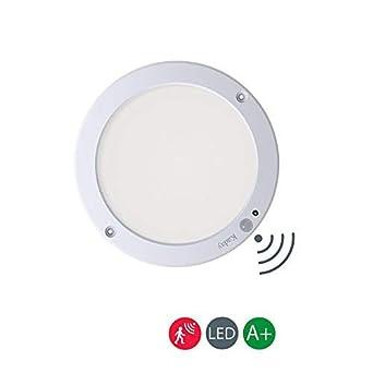 Kaday 18W Downlight LED Plafón con sensor de movimiento Lámpara de pared Techo Foco Empotrable,1300 LM,6000K Blanco frío: Amazon.es: Iluminación