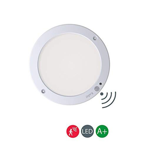 Kaday 18W Downlight LED Plafón con sensor de movimiento Lámpara de pared Techo Foco Empotrable,