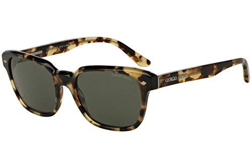 Giorgio Armani AR8067F - 530958 Sunglasses Green Tortoise w/ Grey Green Polarized Lens 53mm