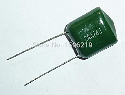 10pz Capacitor 4,7nf 4700pf 100v Polyester Metallic Step 5mm
