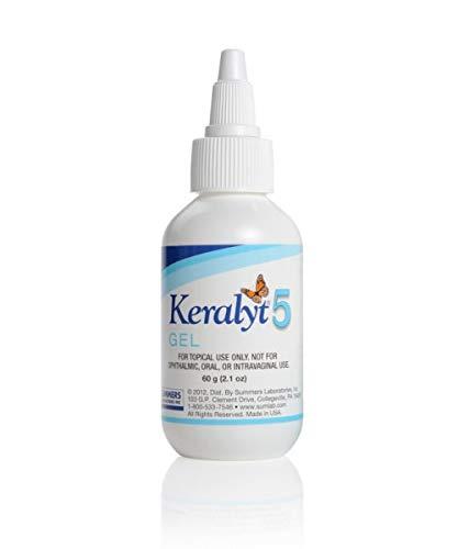 - Keralyt 5 - Beta-Hydroxyacid Exfoliating Gel for Scalp Scaling - 2.1 oz Bottle