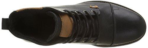Bullboxer 358k52784h, Zapatillas de Estar por Casa para Hombre Negro - Schwarz (P879)