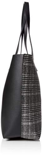 Noir Cabas New 10x40x50 Femme Pattern X y9 Look H black L Chelsea Check w Cm wxRRrYSIqp