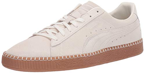 (PUMA Suede Classic Sneaker, Whisper White-Gum, 9.5 M US)