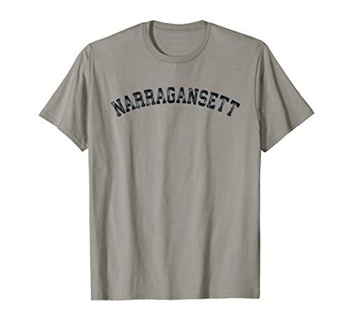 (Vintage Narragansett RI T Shirt Scrum Old 401 Retro Sports T)