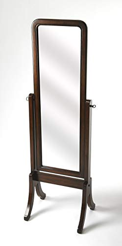 Cheval Mirror in Dark Brown