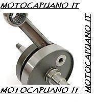 ALBERO MOTORE SPALLE PIENE MAZZUCCHELLI 50 A 125 APE cono 20 corsa 51 AMT186VT