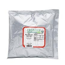 Frontier Herb Milk Thistle - Organic - Whole - Bulk - 1 lb