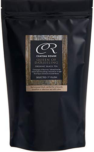 Chateau Rouge - Queen of Darjeeling, Organic Loose Leaf Black Tea, 350g