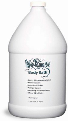 No Rinse Body Bath Case of 4 one gallon bottles - CLEANLIFE PRODUCTS 950 from Clean Life Products