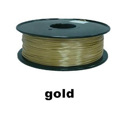 Impresora 3D, Polímero Color Oro Consumibles De Impresión 3D ...
