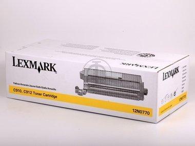 Lexmark Optra C 910 Series (12N0770) - original - Toner yellow - 14.000 ()