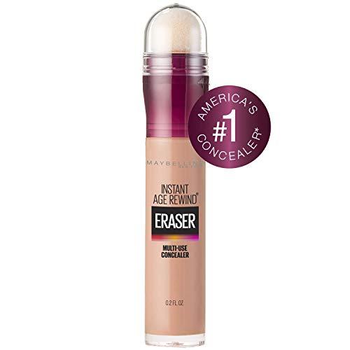 Maybelline New York Instant Age Rewind Eraser Dark Circles Treatment Concealer Makeup, Honey, 0.2 fl. oz.