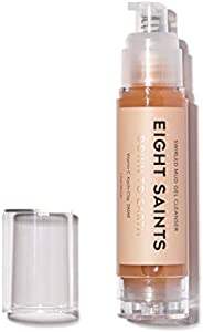 Eight Saints Down To Earth Mud Gel Facial Cleanser, Natural and Organic, Gentle and Effective Daily Face Wash,