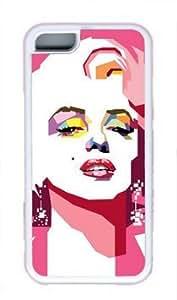 CSKFUMarilyn Monroe popular Custom Rubber(TPU) white Case for iphone 6 4.7 inch iphone 6 4.7 inch by itlol
