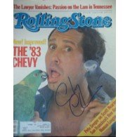 Signed Chase, Chevy Rolling Stone Magazine autographed by Powers Collectibles
