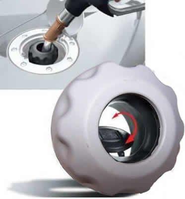 Easycap gris Reservorio Tapa llenarte como en la DTM y cierre bayoneta de Fórmula 1: Amazon.es: Coche y moto