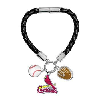 Game Time Offical MLB ST LOUIS CARDINALS Charm Bracelet