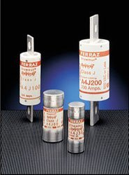 Mersen Electrical Power A4J100 - A4J100, 100A, 600V AC, 300V DC, Fast Acting, Blade Fuse