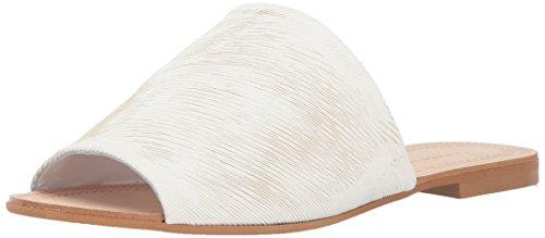 Chinese Women's Kristin Laundry Bahiti White Leather Cavallari Slide Sandal rqarFx1wR