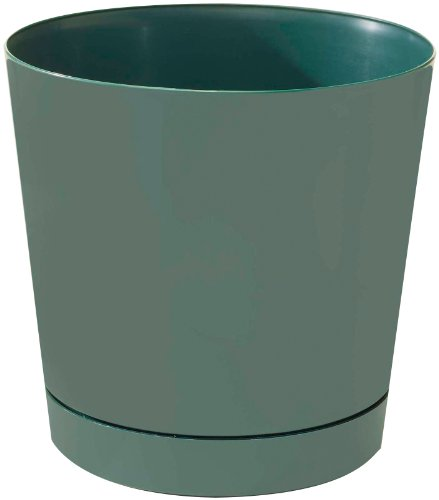 Novelty 10141 Full Depth Round Cylinder Pot, Green, (Green Round Planter)