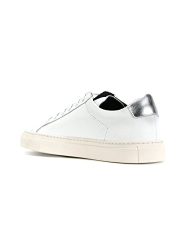PROJECTS 38180509 COMMON Femme Cuir Baskets Blanc FxTHTUw