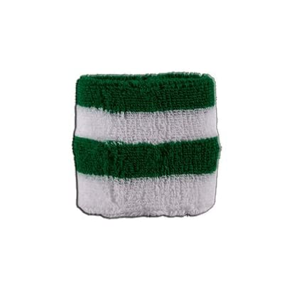 Digni reg Stripe green white Wristband sweatband free sticker Estimated Price £3.95 -