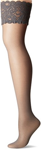 Wolford, Collant Donna, 20 den Grey (Steel )