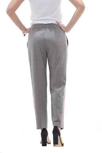 Patrizia Femme De Pour Galles Latérales Lune Pepe Pantalons Prince Express Avec Bandes X1wq7Rx1