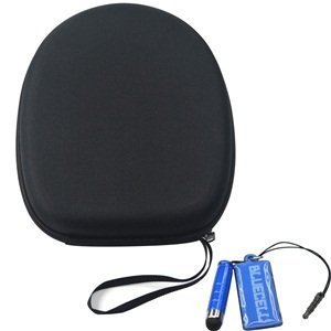 Bluecell EVA Protection Carrying Hard Case/Bag for Audio Technica Headphone + LCD Cleaner Stylus by Generic