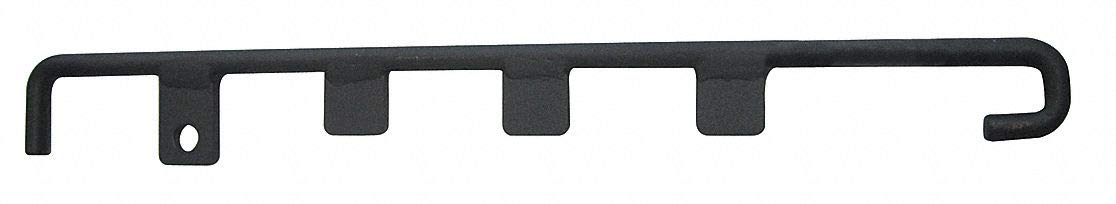 Locking Bar,Fixed Position, Steel, For Use With Mfr. No. VG-1000, VG-4000, 1 EA