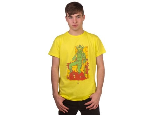 55DSL FIFTYFIVEDSL Manuel Donada Tee, Yellow (2XL) (T-shirt 55dsl)