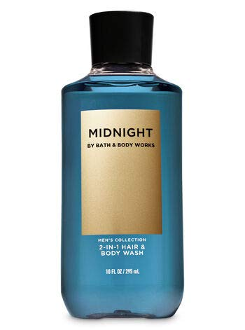 Bath & Body Works Men's Collection Midnight 2-IN-1 Hair & Body Wash