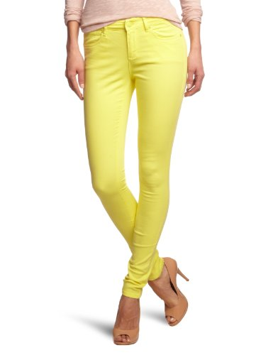Giallo slim gelb yellow Jeans Fit Skinny Cross Donna xBwpq6OX