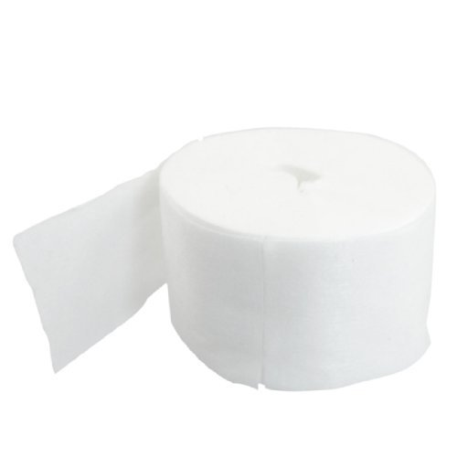 DealMux Makeup Remover Extraction Facial Cosmetic Cotton Pads Roll 200 Pcs White (Pista Roll)