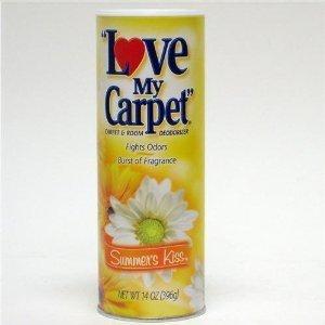 Love My Carpet Kiss's Summer Rug & Room Deodorizer (Pack Of 6)