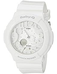 Casio Womens Baby-G BGA131-7B White Plastic Analog Quartz Watch