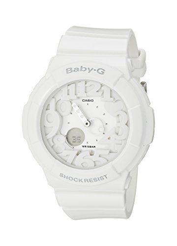 Baby G Baby Bracelet - Casio Women's Baby-G BGA131-7B White Plastic Analog Quartz Watch