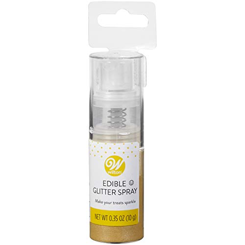 Wilton Edible Gold Glitter Spray, 0.35 -